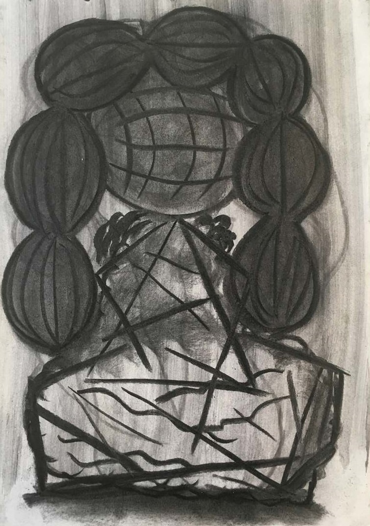 Drawing-object-figure-head-hair-2 by Gav Toye